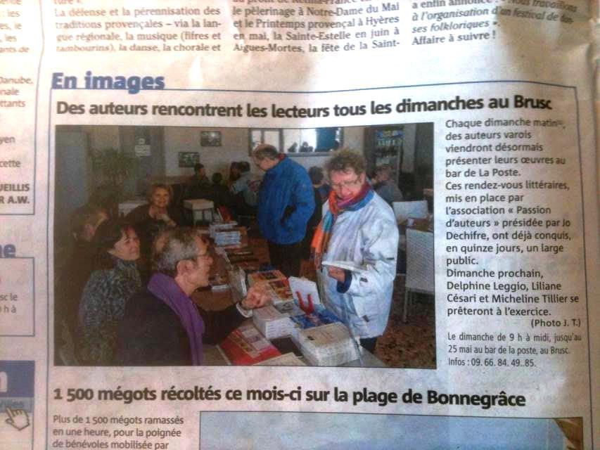 Les Dimanches du Brusc Var matin mardi 110214