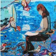 Vernissage de l'artiste peintre Arlette Béal