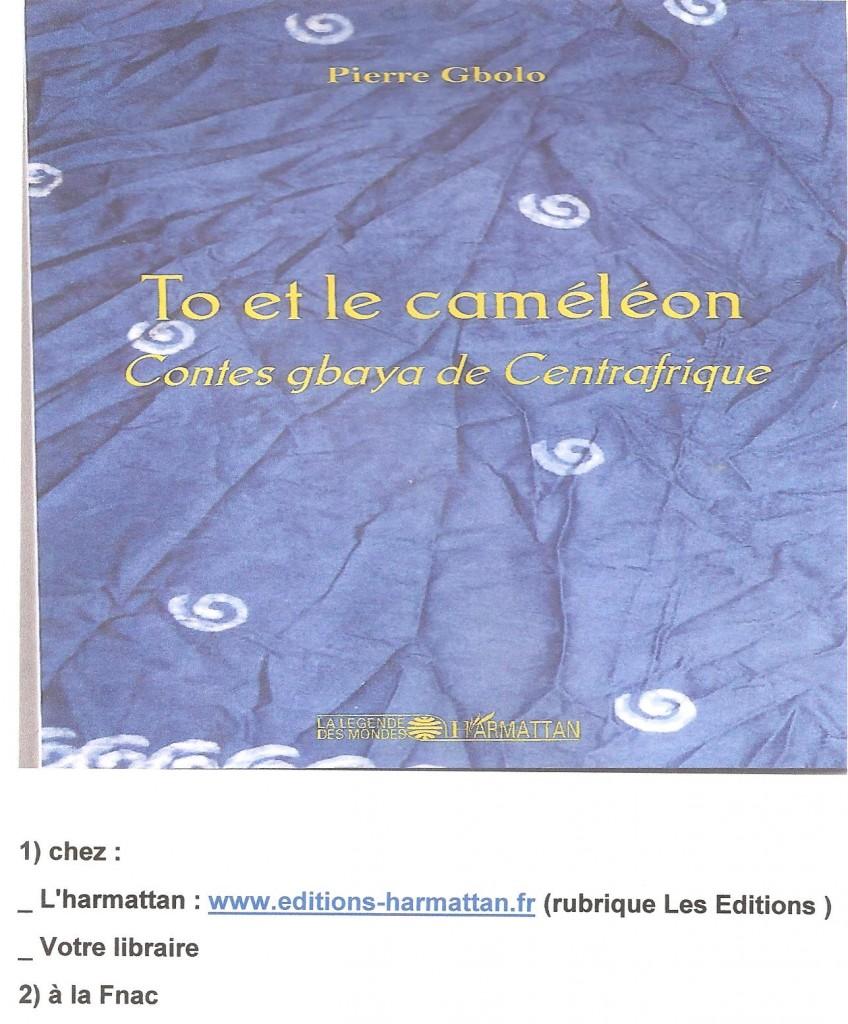 To et le cameleon  PUB