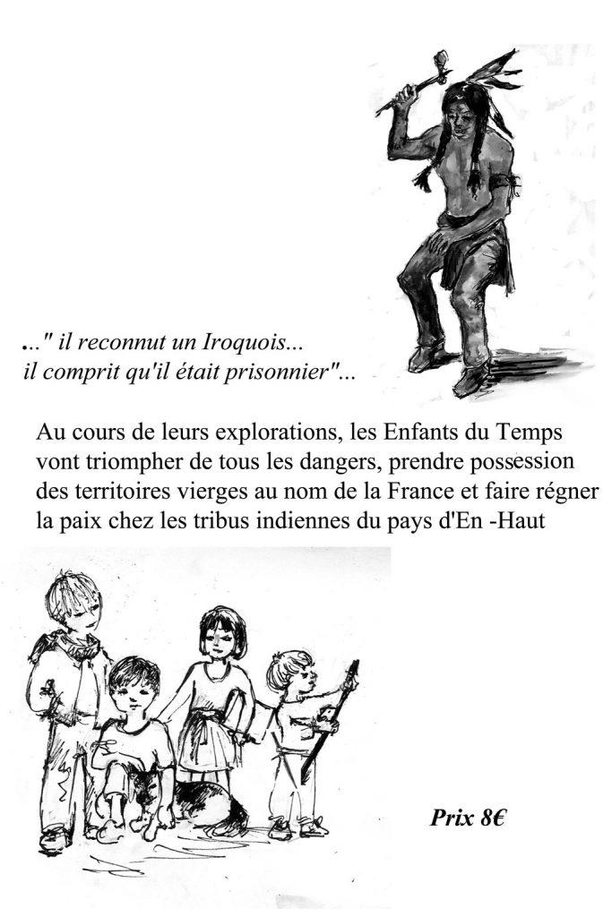 Coureur des bois en Nouvelle France 4eme