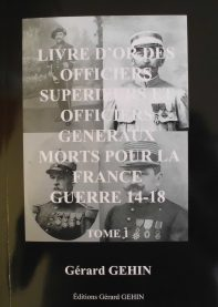 Livre d'or des généraux et officiers supérieurs Morts pour la France