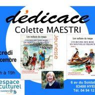 Colette Maestri en dédicaces
