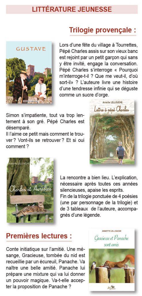 Livres Jeunesse de Annette Lelliuche