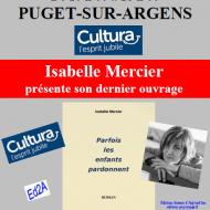 Prochaine séance de dédicaces Isabelle Mercier
