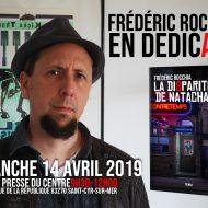 Frédéric Rocchia en dédicace