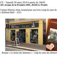 Coup de coeur du libraire Mille paresses - Le Pradet