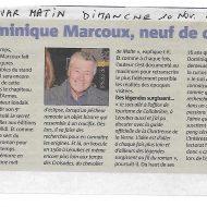 Dominique Marcoux, neuf de coeur