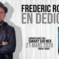 Frédéric Rocchia en dédicace à Sanary, 21 mars 2020